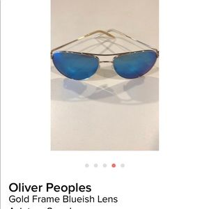 Oliver people aviators